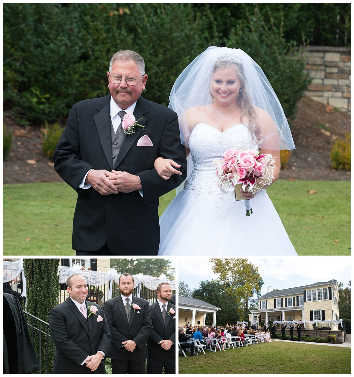 Springdale House and gardens ceremony