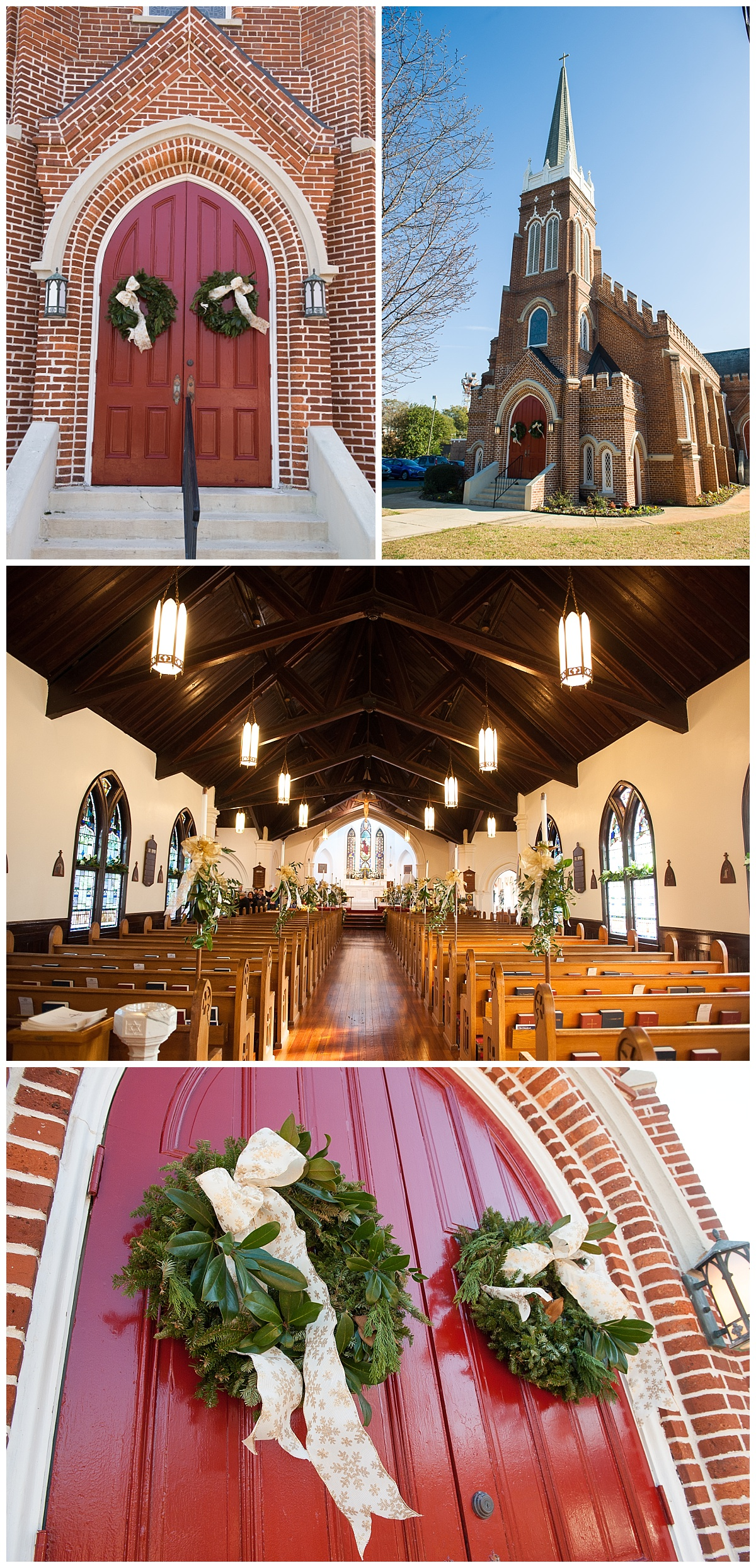 Episcopal church wedding in columbia sc