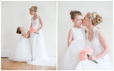 Melissa's Mother-Daughter Bridal Portrait at 701 Whaley