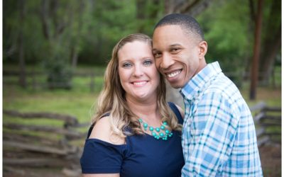 Sarah & Stanley's Rustic Engagement Session
