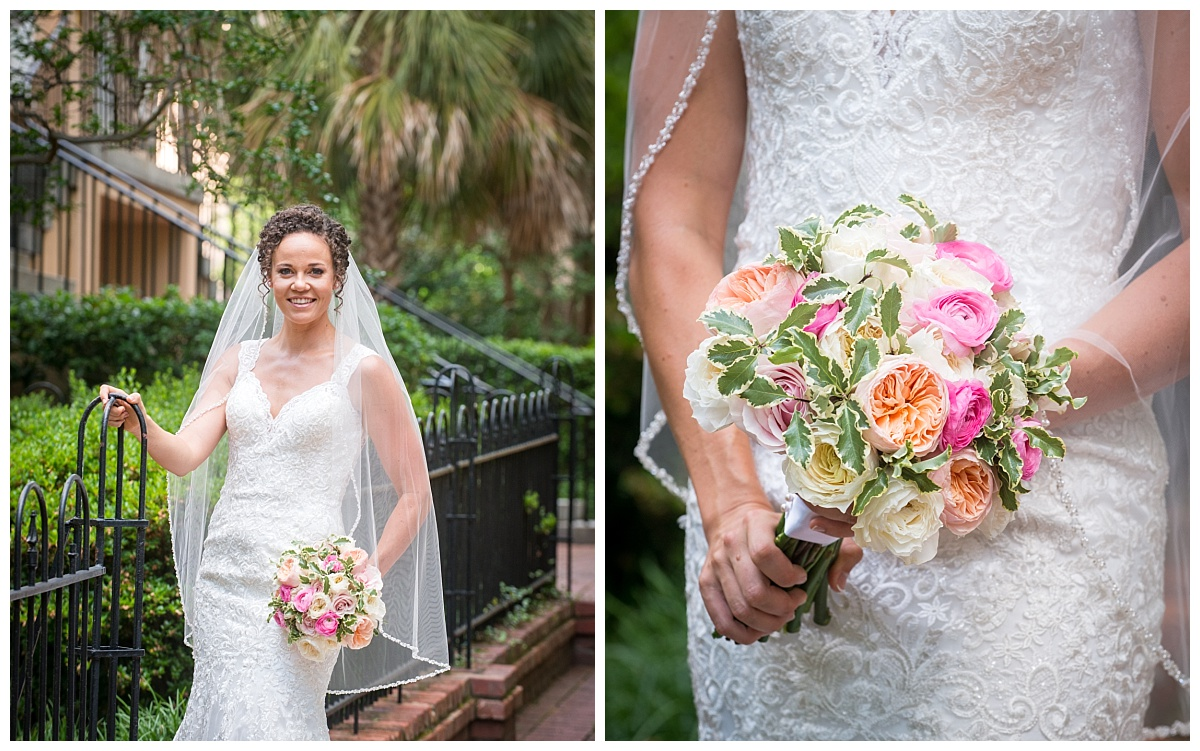 Lacy dress detail and wedding hankerchief...