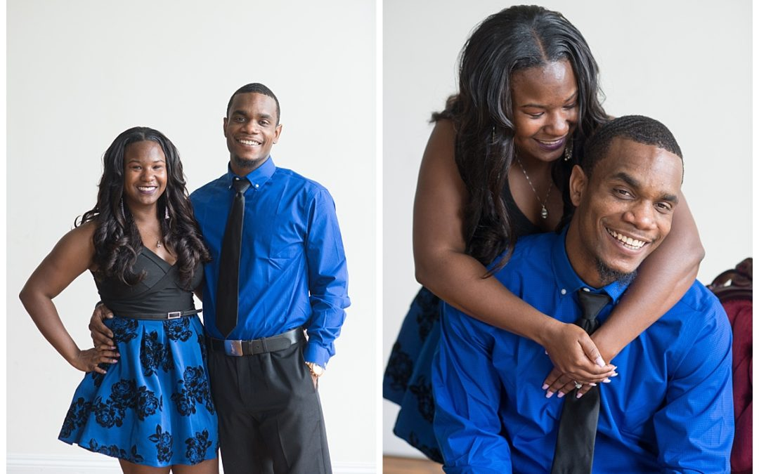 LaTavia and Hudie – 701 Whaley Engagement Session