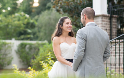 Michelle and Christian- Springdale House Wedding
