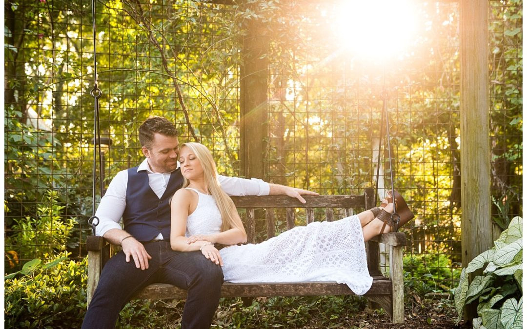 Megan & John Engagement Portrait- Riverbanks Zoo