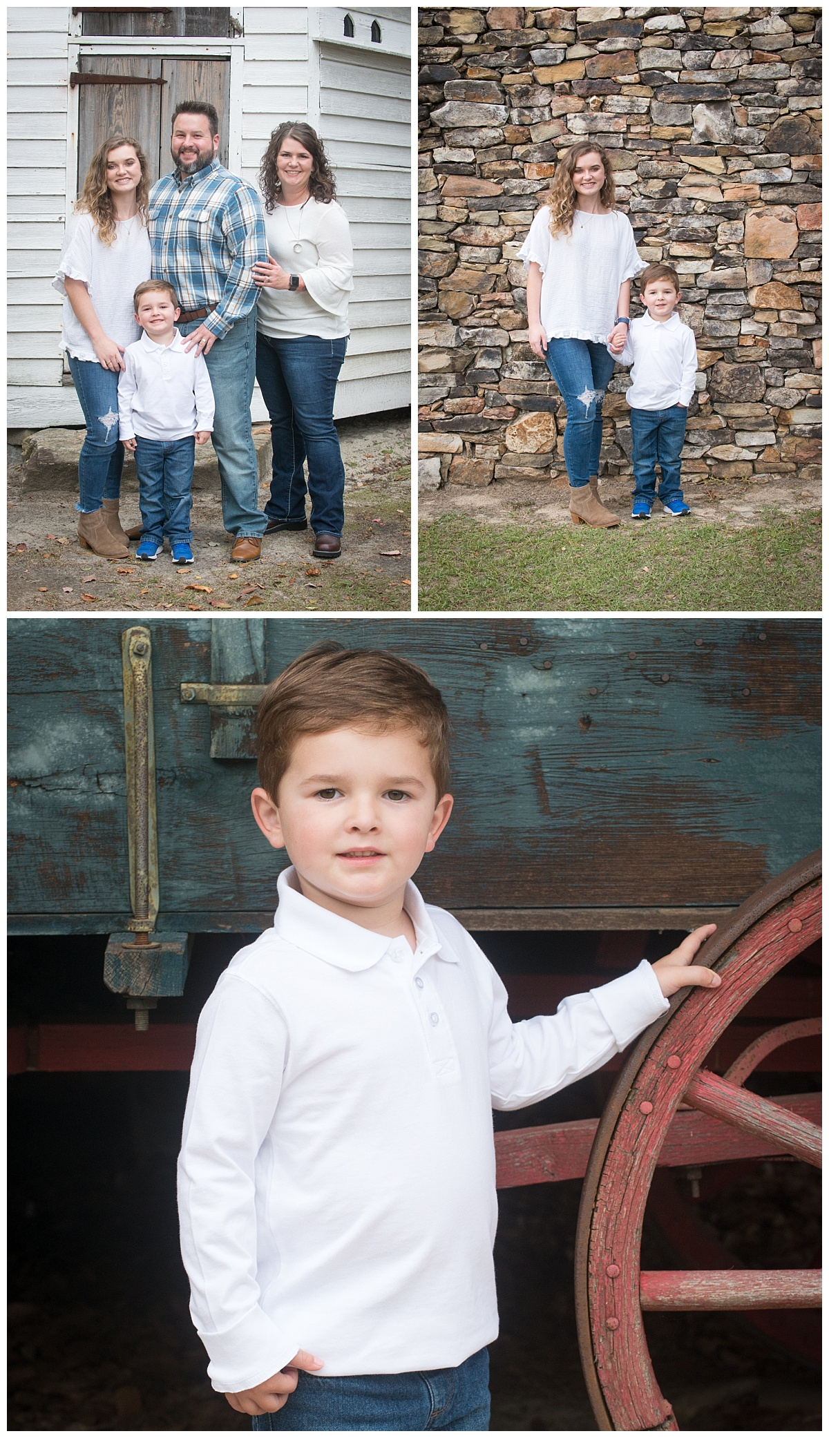 fall rustic mini sessions in lexington sc