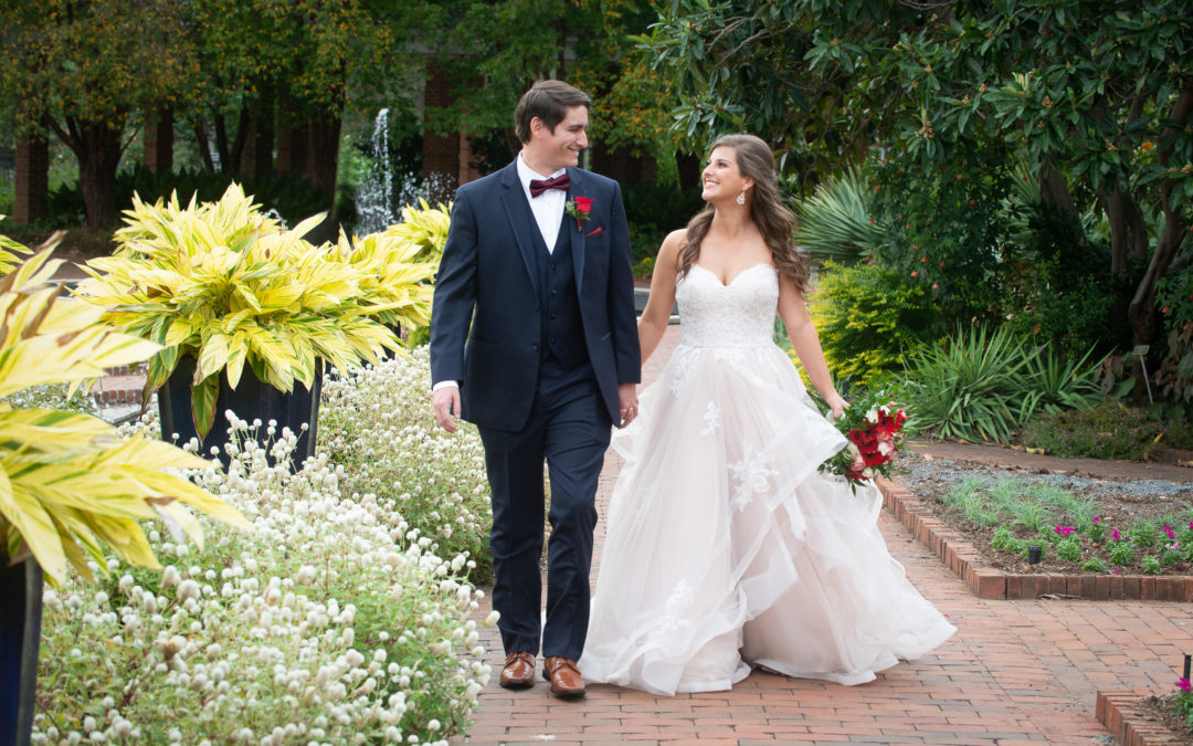 Kate & Chris- Riverbanks Zoo and Gardens Wedding