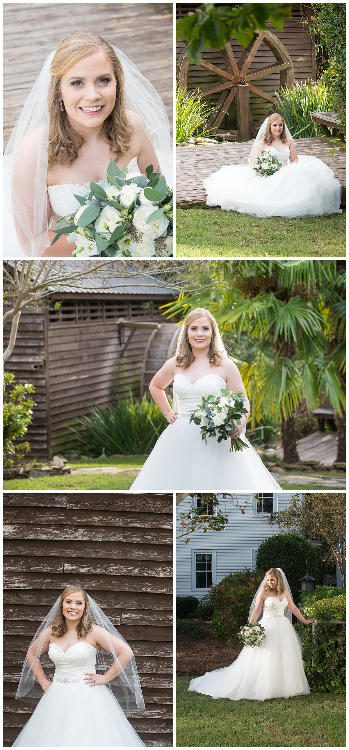 Corley Mill House Bridal Portrait