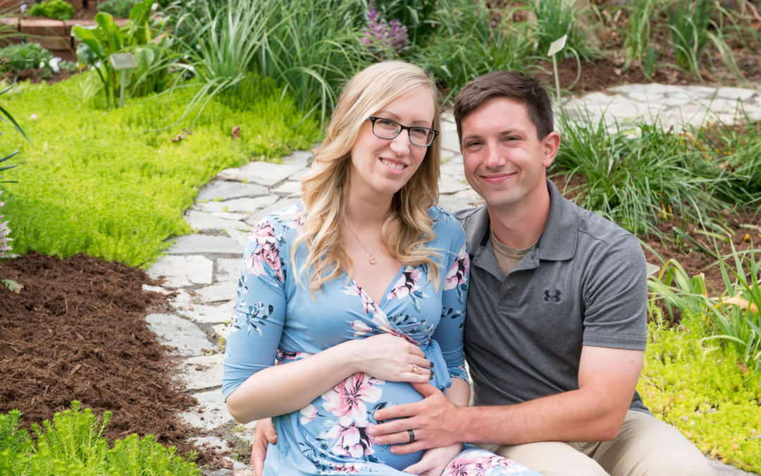 Lauren and Dale Maternity Photos- Riverbanks Zoo