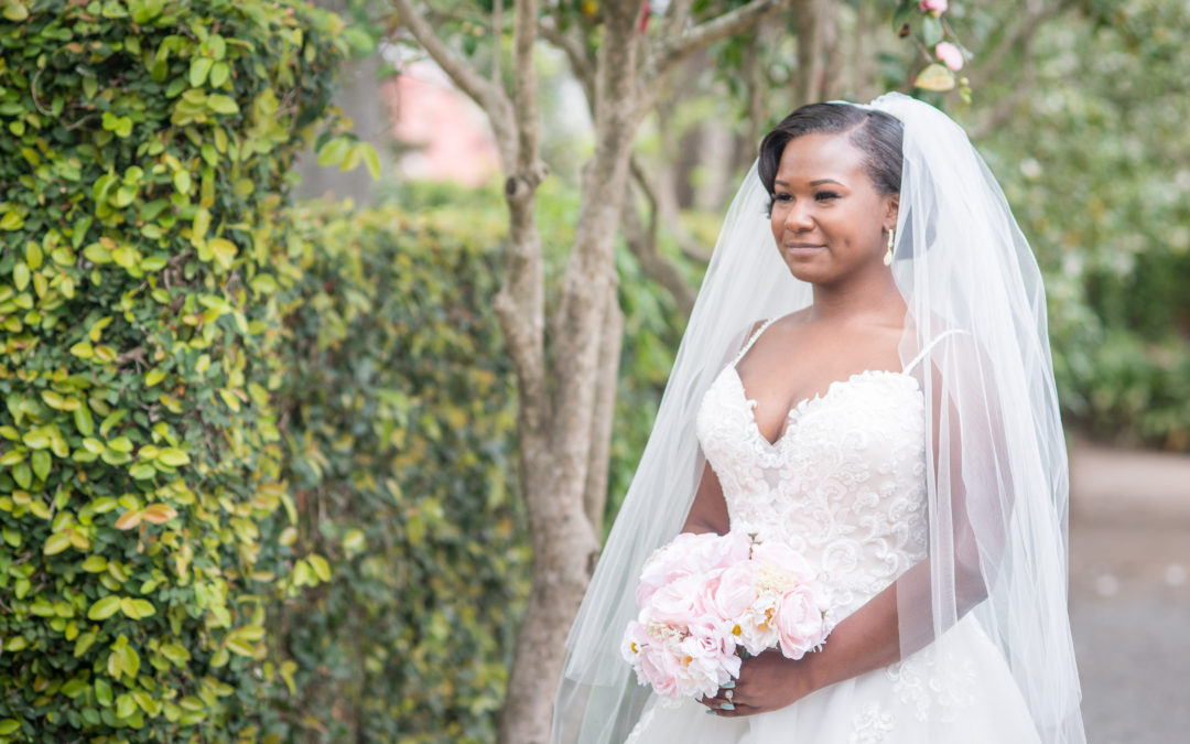 LaTavia's Bridal Portraits at the Lace House grounds