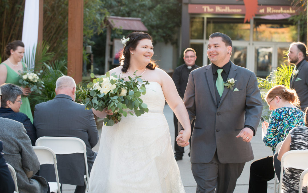Megan and Chase- Riverbanks Zoo Wedding
