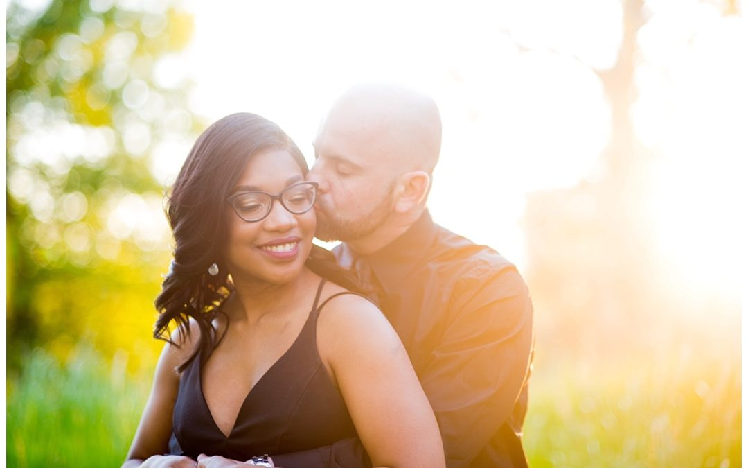 Tatiana & Indrit Engagement Session in the Columbia Vista