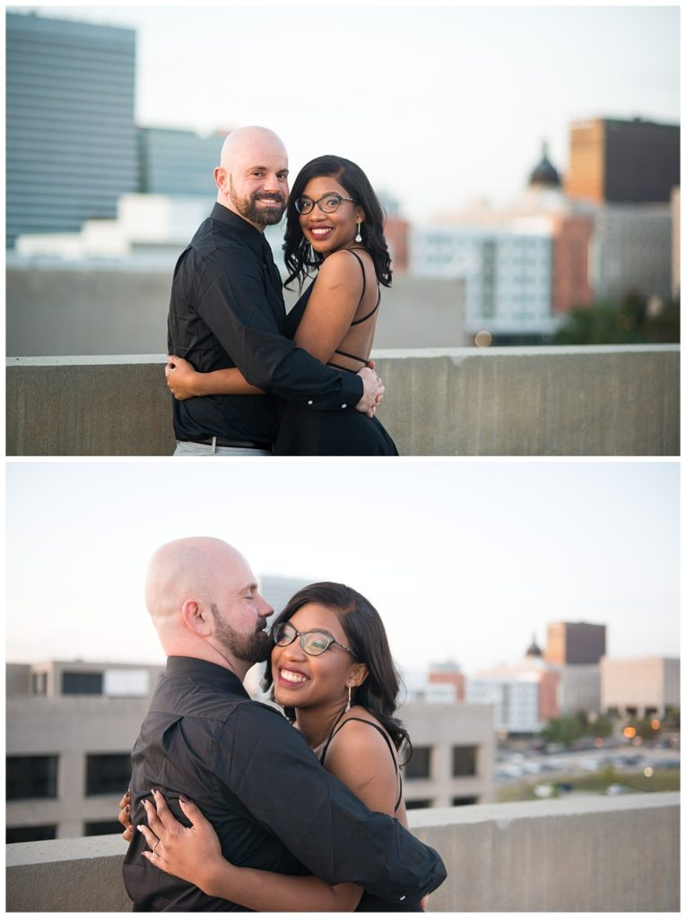 Columbia skyline engagement