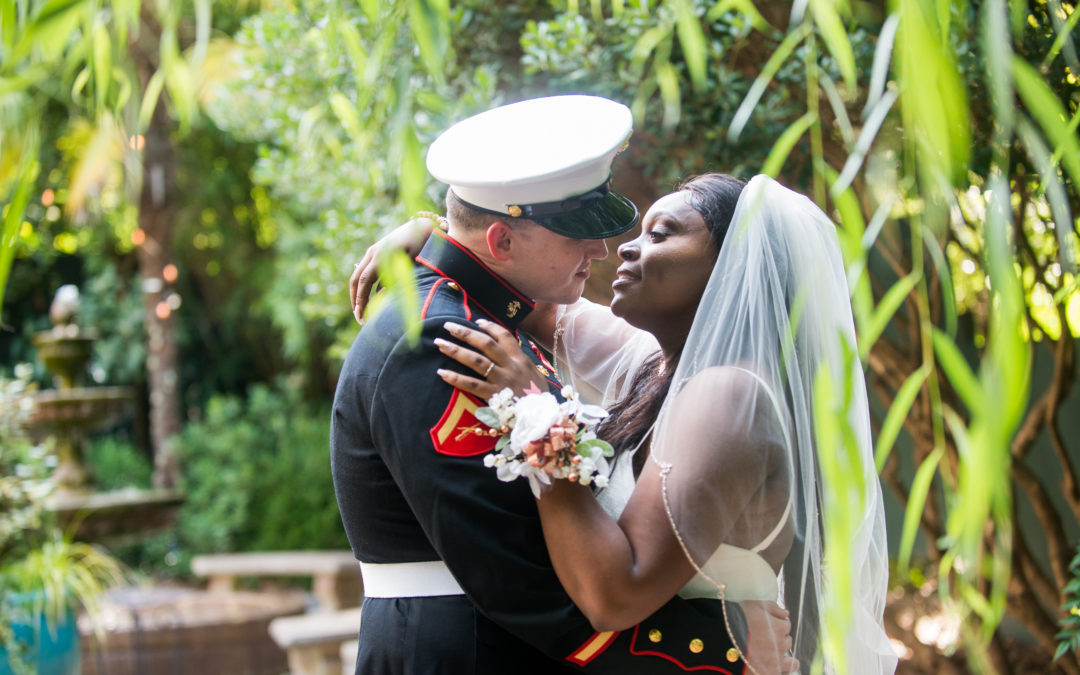 Marquita and Christian – River Road and Jasmine House Wedding