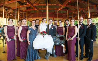 Amanda and Bob – Riverbanks Zoo Wedding