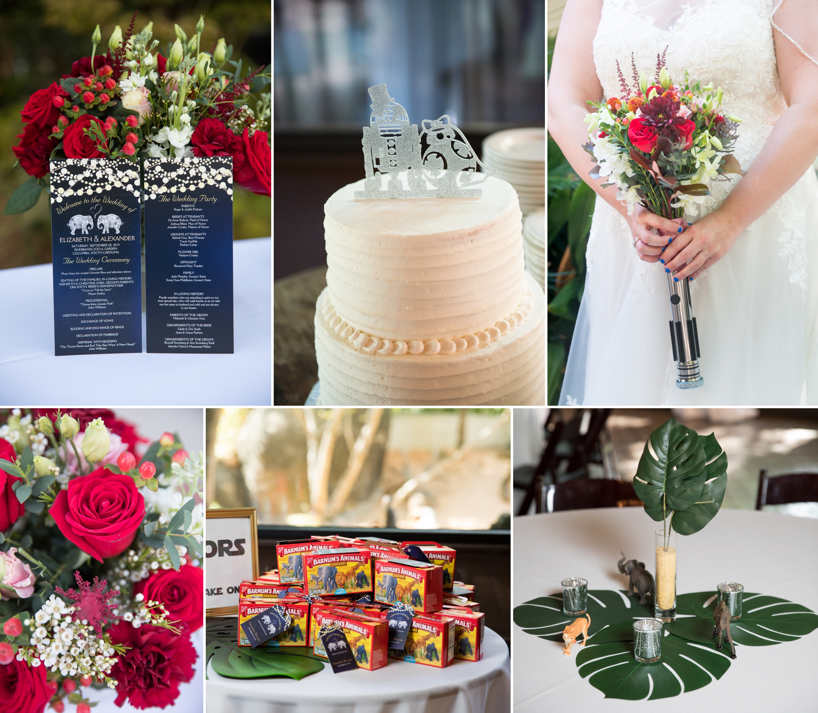 rIVERBANKS Zoo wedding